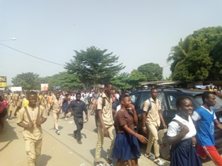 Secteur éducation /formation : Les élèves encore dans la rue ce matin