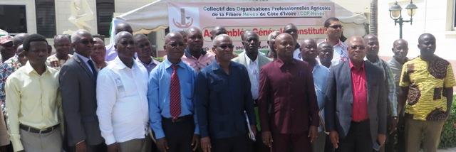 Fédération des OPA de producteurs de la filière Hévéa De côte d'ivoire Le nouveau PCA connu