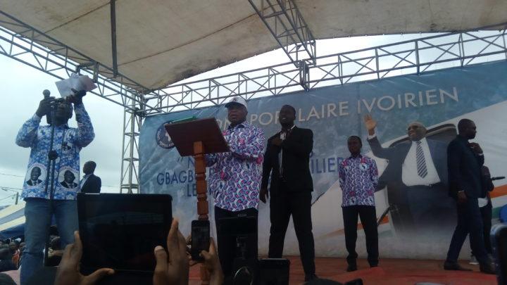 """Côte d'Ivoire: A propos du retour de Gbagbo: Le  Sg Assoa Adou depuis Yopougon ,  """"GBAGBO N'A PAS BESOIN D'AUTORISATION POIR RENTRER EN CÔTE D'IVOIRE """""""