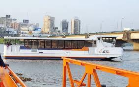 Transport lagunaire : Quatre(4) nouveaux Bateaux présentés à la population Abidjanaise