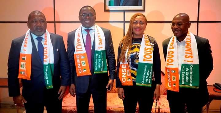 Danho Paulin le ministre des sports Ivoirien confirme :'' Nous avons fait deux packages. Un qui courrait du 20 au 2 juillet. Nous avons envoyé les supporter, les personnes de la société civile et journalistes ''