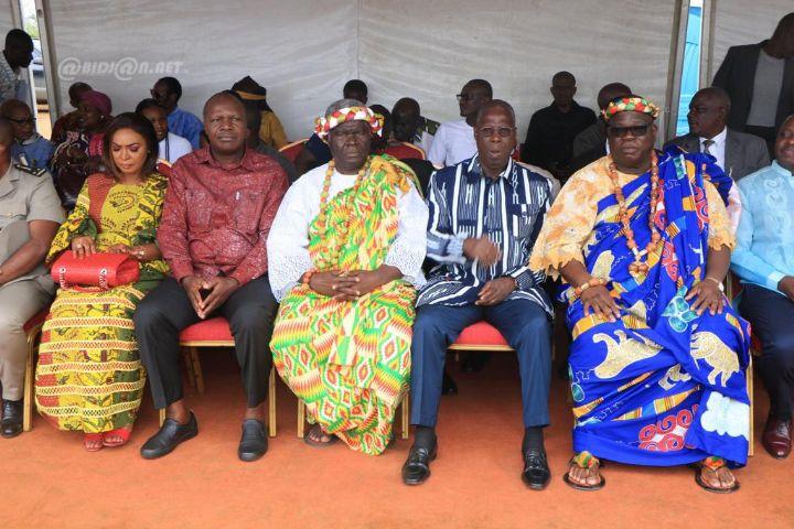 """District d'Abidjan : Songon Dagbé  La génération """"tchagba"""" célèbre la maturité."""