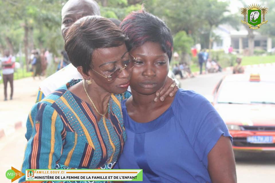 Viol crapuleux. Bakayoko-Ly Ramata aux côtés de la famille de la petite.