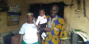 Côte d'Ivoire (Man): Un bébé de 4 mois sort vivant miraculeusement après  l' effondrement d'une maison