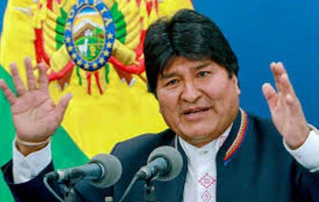 Présidentielle Bolivie : Evo Morales dénonce un coup d'Etat