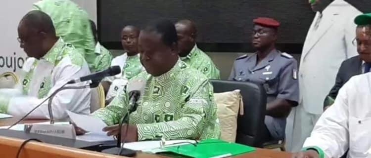 Man( Convention éclatée du Pdci-Rda) :Bédié plébiscité à 100%, mention très honorable pour N'zueba.