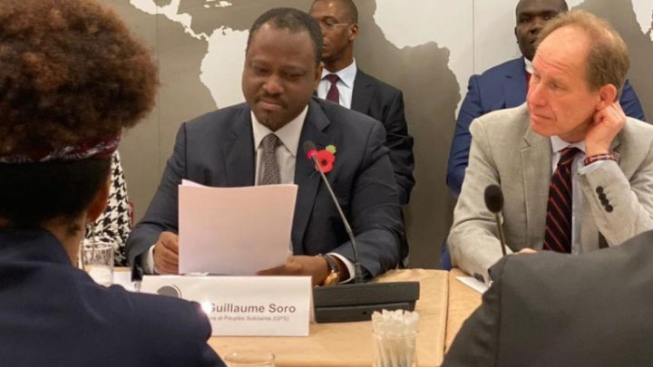 Londres: Soro Guillaume met à nu les chiffres ronflants de la croissance économie de Ouattara