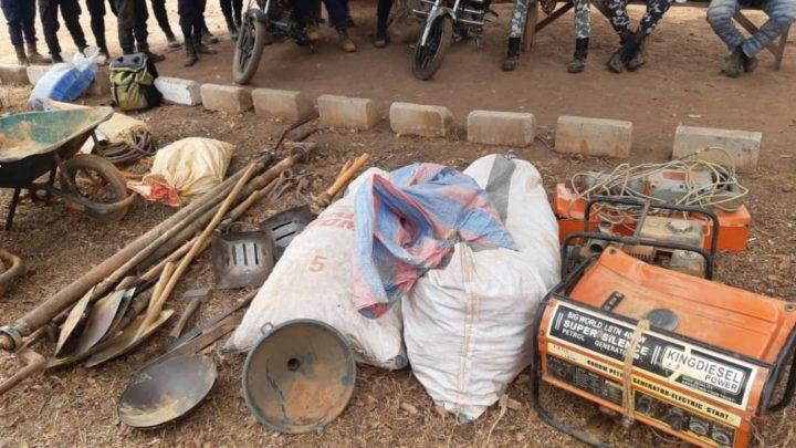 Dimbokro: La BRICM traque les orpailleurs clandestins