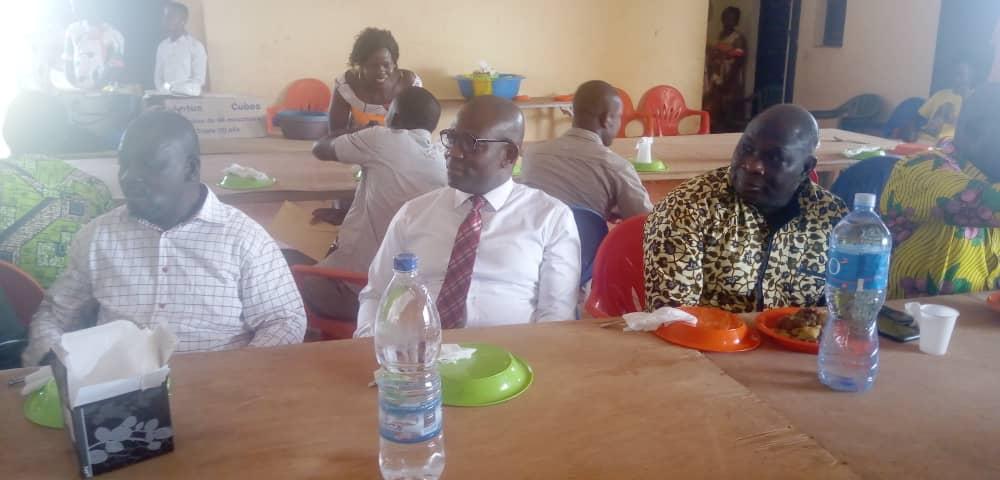 Sangouiné:   Le maire de crée une caisse de solidarité pour les fonctionnaires de sa cité