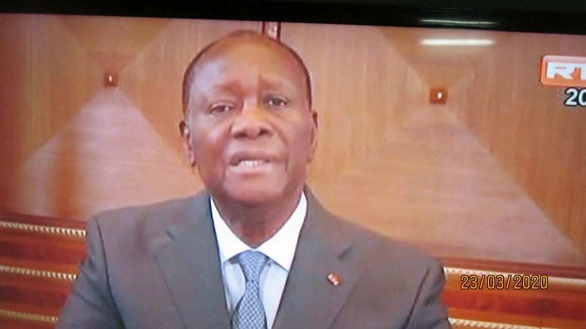 Côte d'Ivoire( Covid 19) : Voici les 8 mesures d'urgence prises par Ouattara