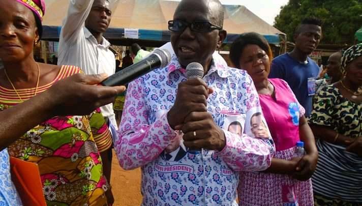 Man: Investiture de la section FPI de Kpangouin 2-Krikouma ,  Le Vice Président Sia André sonne réveil du peuple Dan