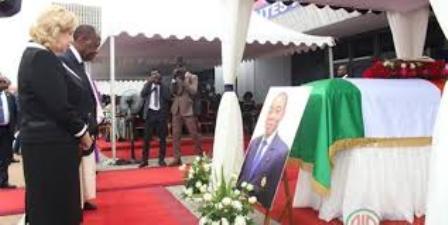 Deuil : Obsèques de l'ex Président du Cesec , Charles Koffi Diby  inhumé le samedi 14 Mars prochain à Kpapouabo