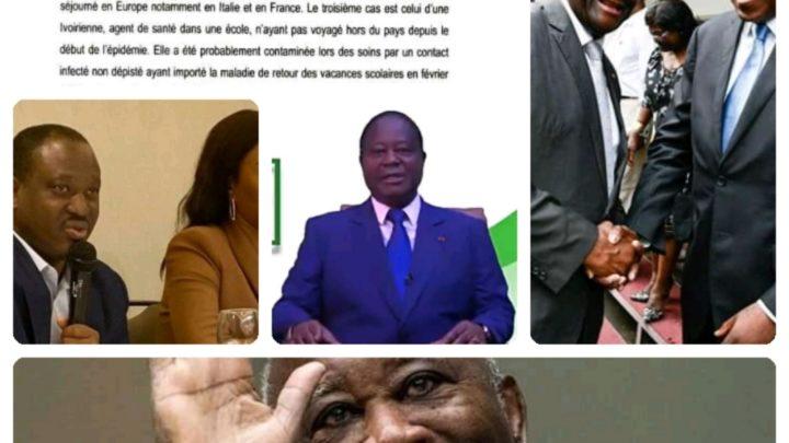 Côte d'Ivoire : Les candidats du Pdci , Rhdp sont au pays , où sont ceux du Fpi et du Gps ?