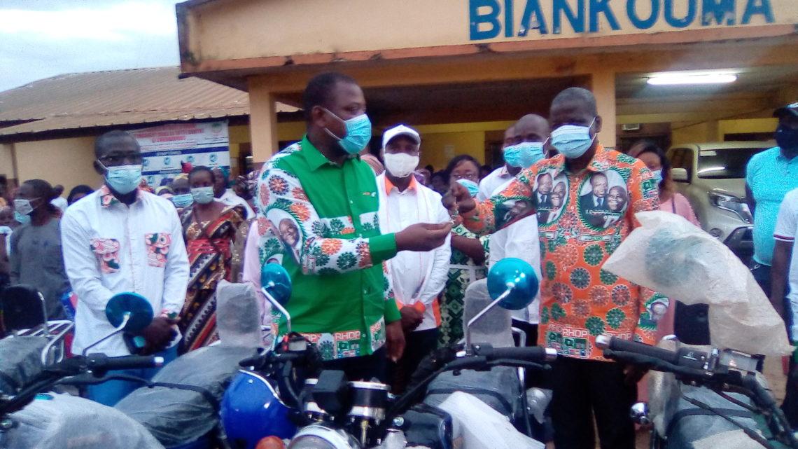 Présidentielle 2020 (Biankouma):Parrainage citoyen , l'honorable Dely Mamadou assouplit la mission des  délégués communaux et sous-préfectoraux