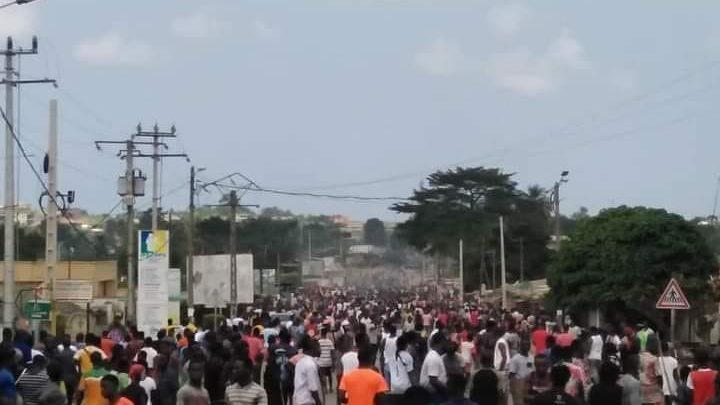 Présidentielle 2020  ( Côte d'Ivoire ) : La majorité de la population dit non aau troisième mandat de Ouattara, le bilan des manifestations  s'alourdit 1 mort à Bonoua