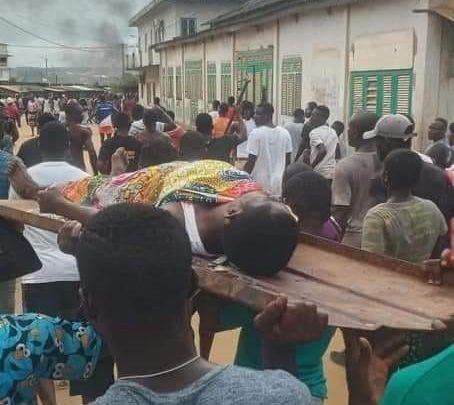 Désobéissance civile (Côte d'Ivoire): La soldatesque de Ouattara  fait un(1) mort à Bonoua.