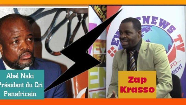 Diaspora (France): Rififi Politique au Cri-Panafricain ABEL NAKI / ZAP KRASSO ,LES VRAIES RAISONS DE LA RUPTURE