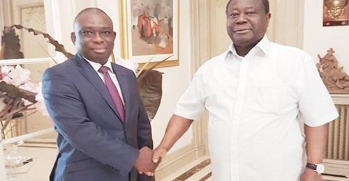 Côte d'Ivoire : La visite de KKB chez Bédié tancée par les pro-Soro.