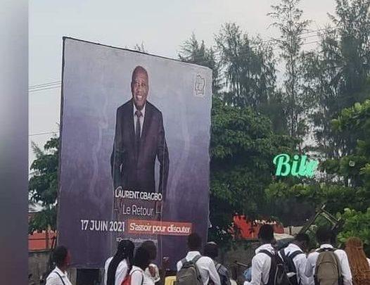 Côte d'Ivoire: Arracher les affiches de Gbagbo ne l'empêcheront pas de rentrer.