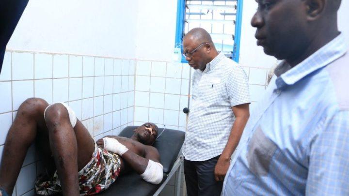 Côte d'Ivoire (répression contre l'opposition):LE VP DAMANA PICKASS AU CHEVET DES BLESSÉS DE LA RÉPRESSION DU 17 JUIN